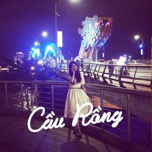 kinh nghiệm du lịch ban đêm cầu rồng Đà Nẵng