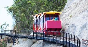 tàu lượn sườn núi chặng số 2 kinh nghiệm du lịch bà nà hills đà nẵng