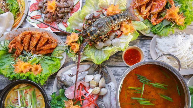 Image result for hải sản đà nẵng