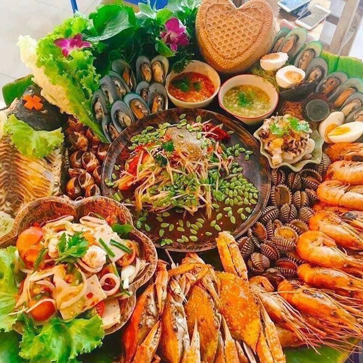 Ăn hải sản thả ga