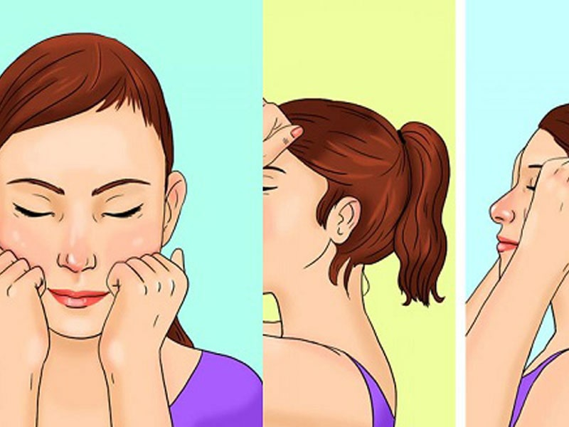 massage mặt theo phương pháp Nhật Bản