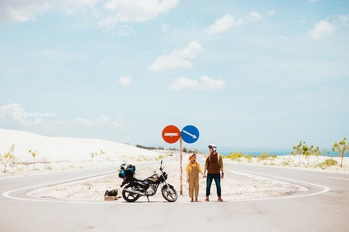 thuê xe máy Thanh Lâm tại Phan Thiết