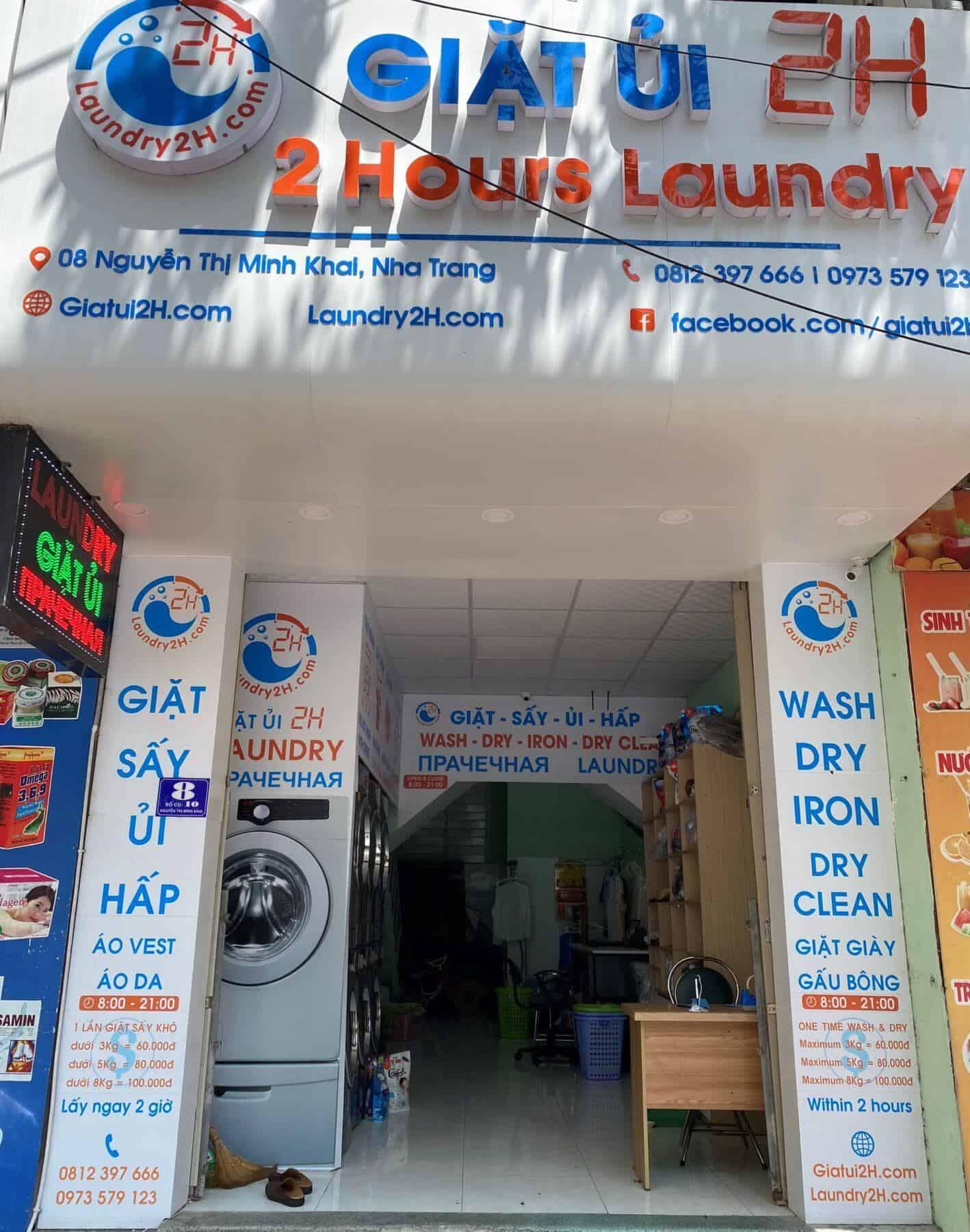 Giặt ủi 2H Nha Trang